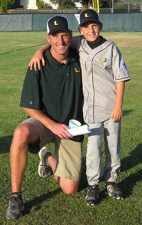 Eric Houser and son