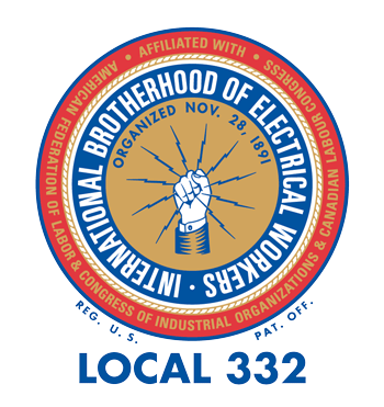 Local Union 332 logo