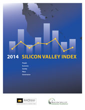 2014 Silicon Valley Index blue cover