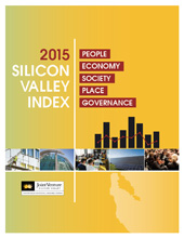 2015 Silicon Valley Index yellow cover