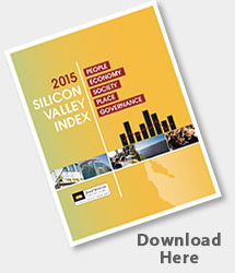 2015 Index of Silicon Valley cover