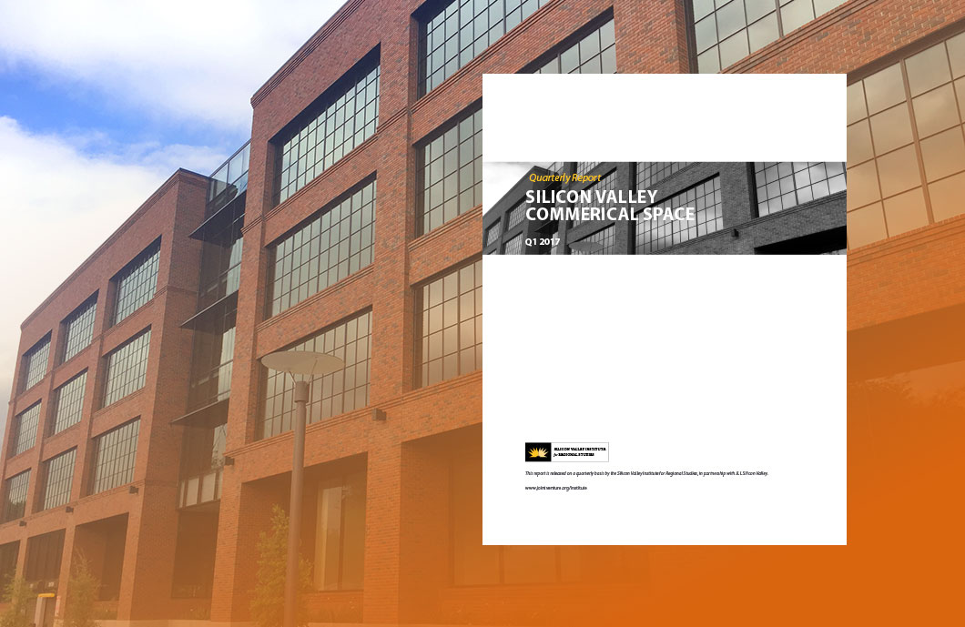 report cover over image of commercial building