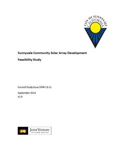 Sunnyvale study cover