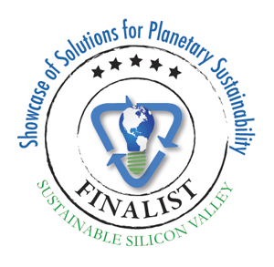 Showcase of Solutions for Planetary Sustainability Finalist circle logo